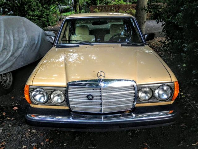 1980 Mercedes Benz 240d Base Sedan 4 Door 2 4l For Sale Photos