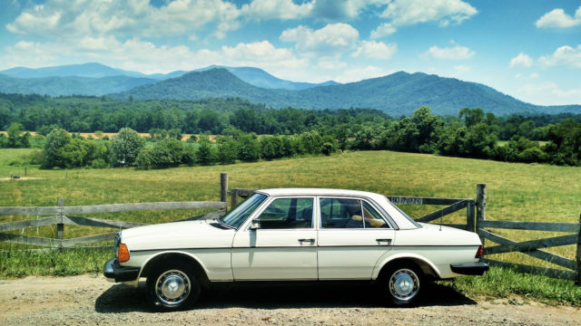 1980 Mercedes-Benz 200-Series D, SD, CDI, E