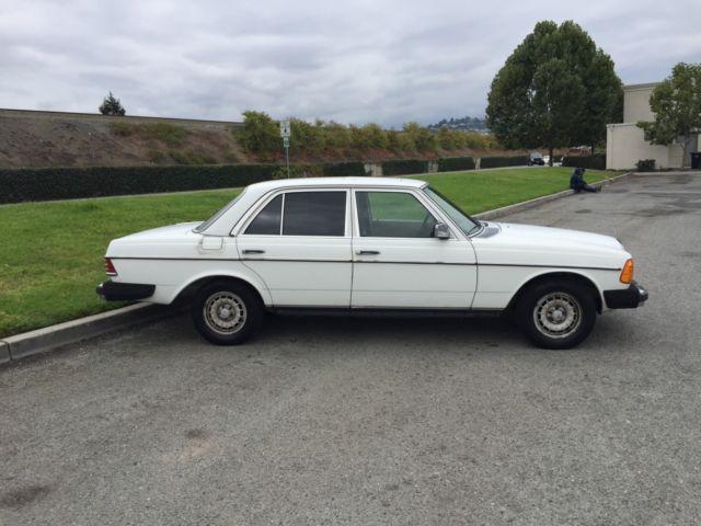 1980 Mercedes Benz 300D Automatic Trans Sedan San Fran Bay Area No Reserve!
