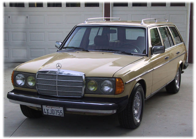 1980 mercedes benz 300td w123 wagon converted to run wvo for Mercedes benz 300td