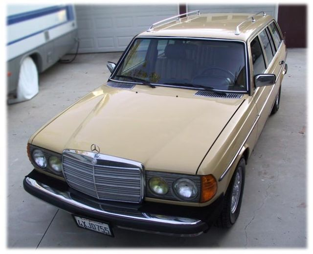 1980 mercedes benz 300td w123 wagon converted to run wvo for Mercedes benz diesel wagon for sale
