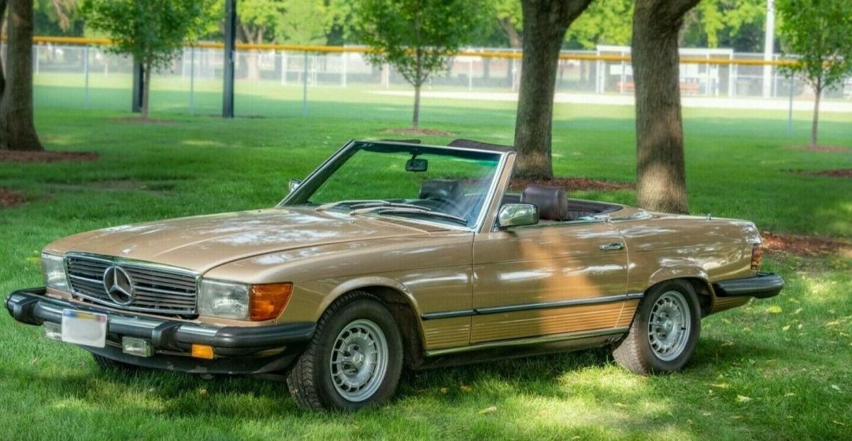 1980 Mercedes-Benz SL-Class Brown Leather