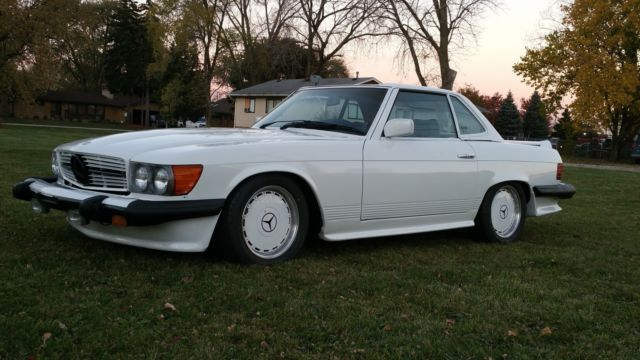 1980 mercedes benz 450sl amg for sale photos technical specifications description. Black Bedroom Furniture Sets. Home Design Ideas