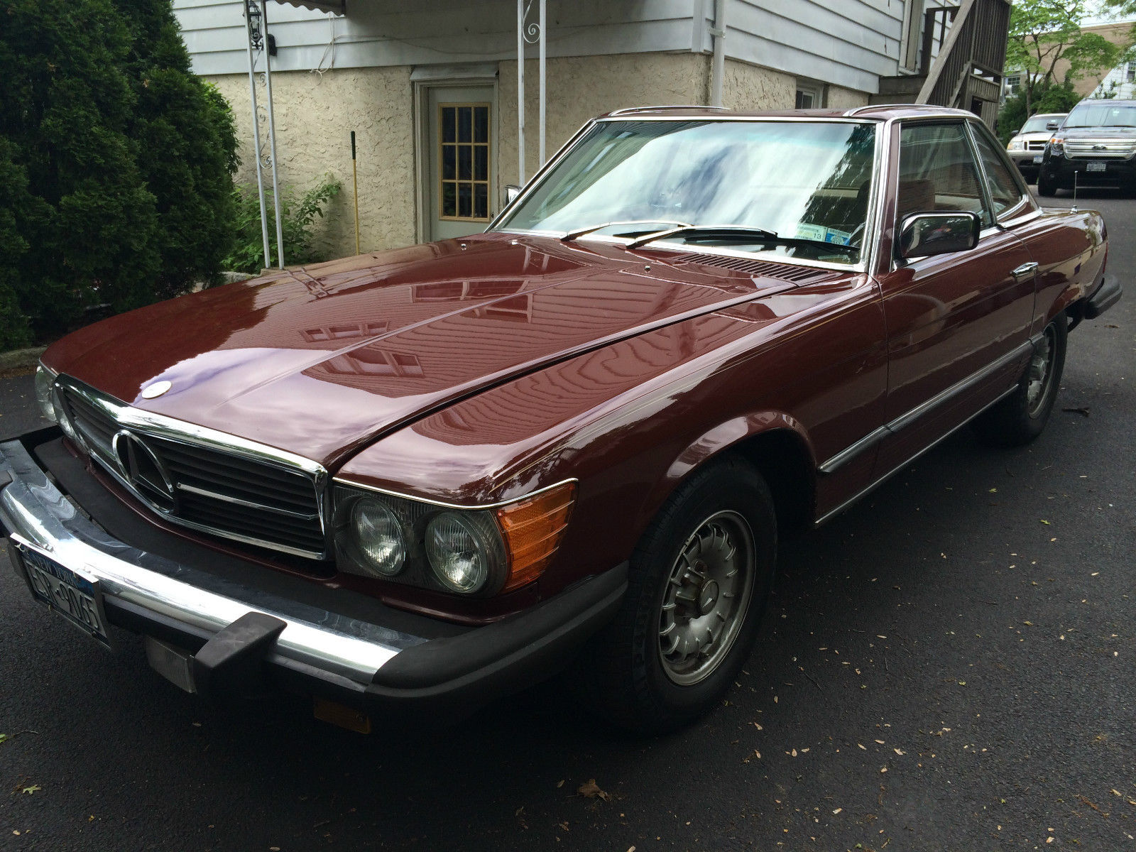 1980 Mercedes-Benz 400-Series SL