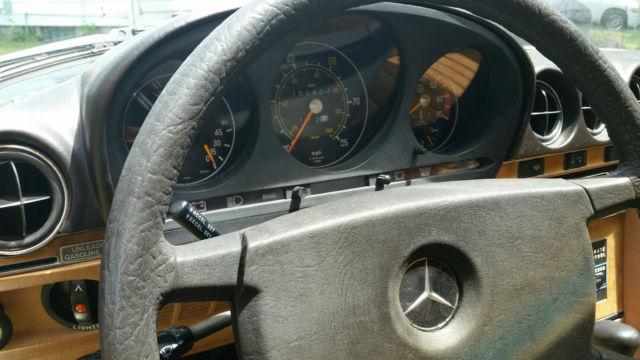 1980 Mercedes Benz 450slc Base Coupe 2 Door 4 5l For Sale