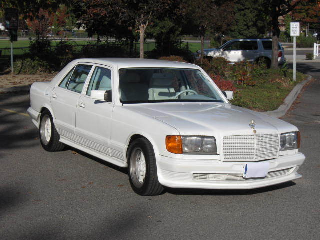 1980 Mercedes-Benz 300-Series AMG grey market import performance package
