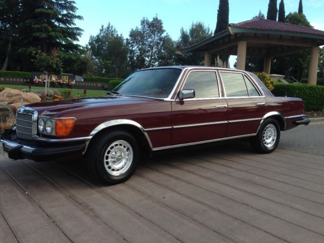1980 Mercedes-Benz 300-Series Turbo diesel