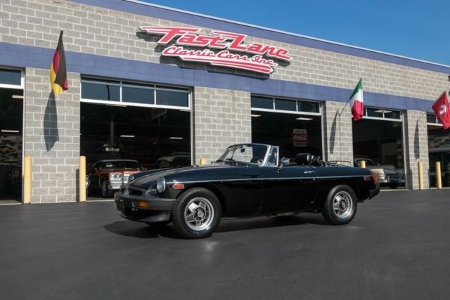1980 MG MGB Limited Edition Overdrive