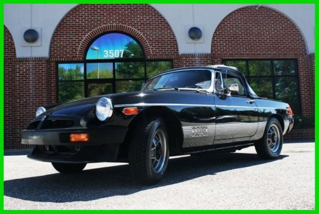 1980 MG MGB MGB Limited Edition, nice original car low miles