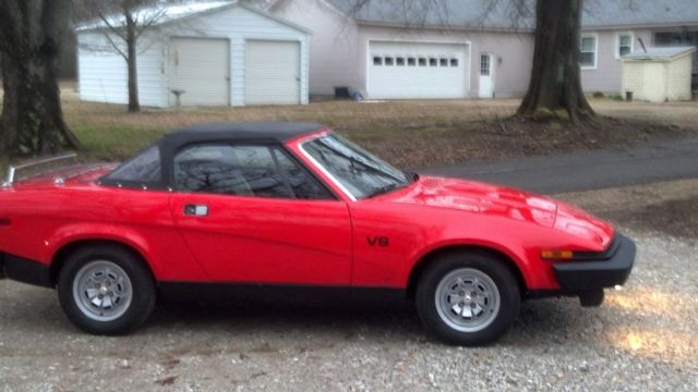 1980 Triumph Other 2 door convertible
