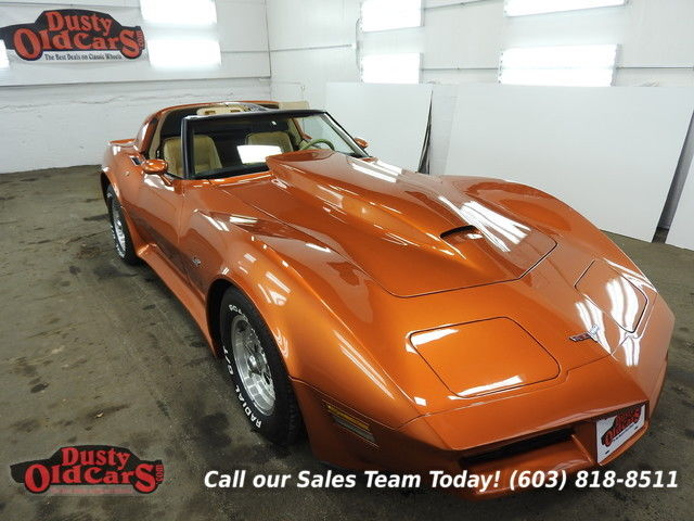 1980 Chevrolet Corvette Runs Drives Body Int VGood 350V8 4 spd auto
