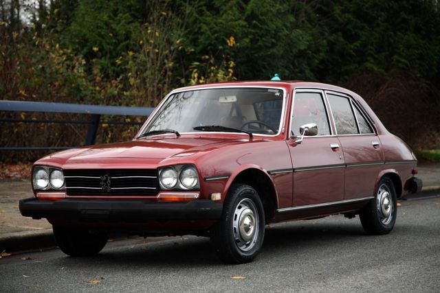 1980 Peugeot 504 Diesel 4sp Beautifully Preserved For Sale Photos