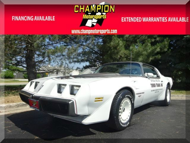 1980 Pontiac Trans Am Turbo Indy Pace Car