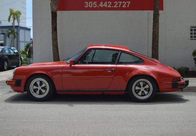 1980 Porsche 911 SC Coupe - Rebuilt Engine - Many New Parts - Stack of Receipts