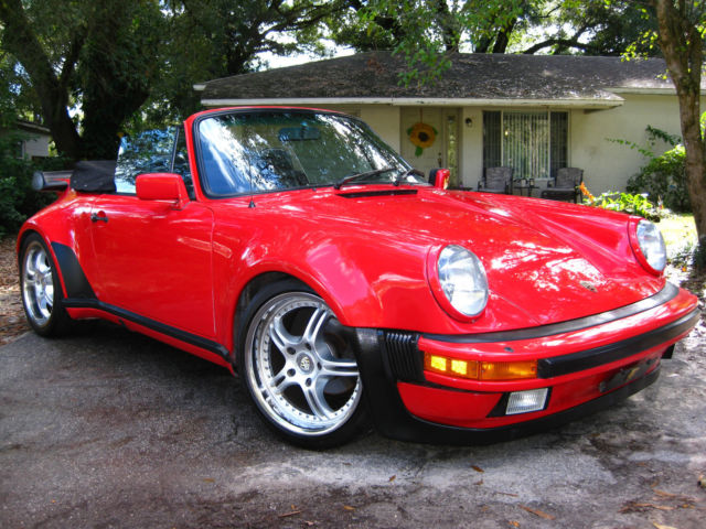 1980 porsche 911 wide body convertible turbo look no reserve for sale photos technical. Black Bedroom Furniture Sets. Home Design Ideas