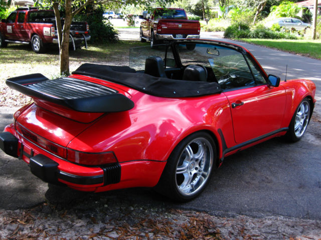 1980 Porsche 911 Wide Body Convertible Turbo Look No