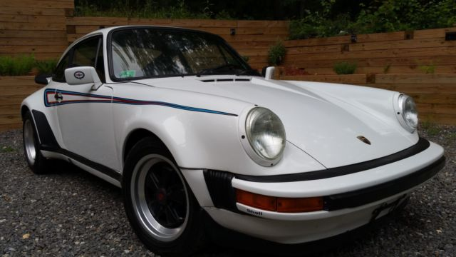1980 Porsche 911sc Coupe Martini 930 Turbo Wide Body For