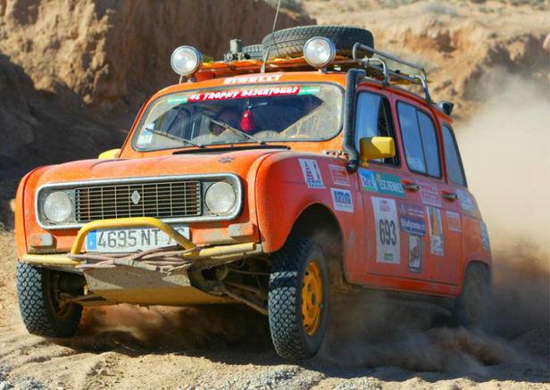 1980 Renault 4l Dakar Trophy One Owner Garaged Completely