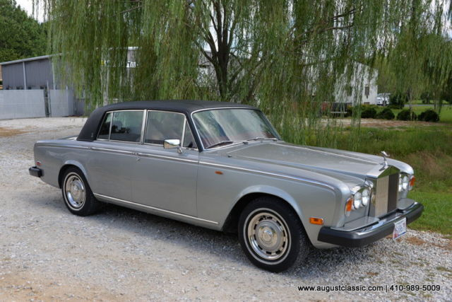 1980 rolls royce silver shadow ii for sale photos technical specifications description. Black Bedroom Furniture Sets. Home Design Ideas