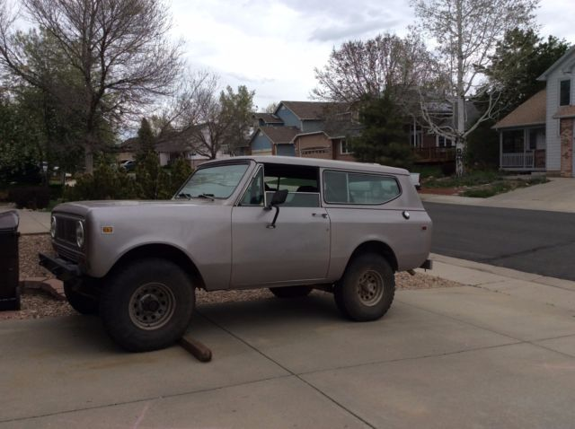 1980 International Harvester Scout