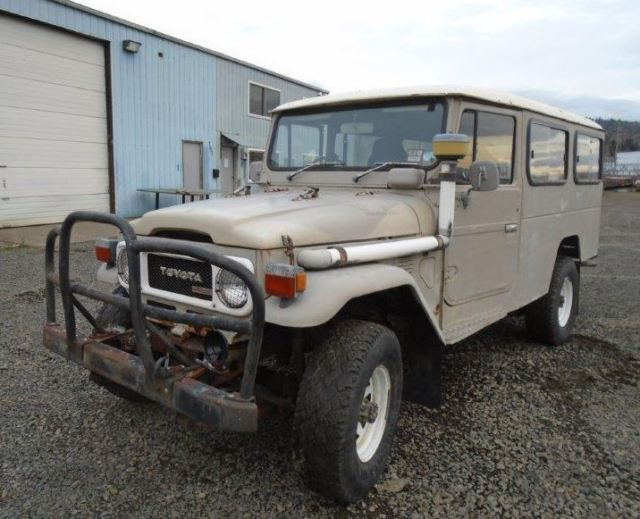 1980 Toyota Land Cruiser Troop Carrier Troopy