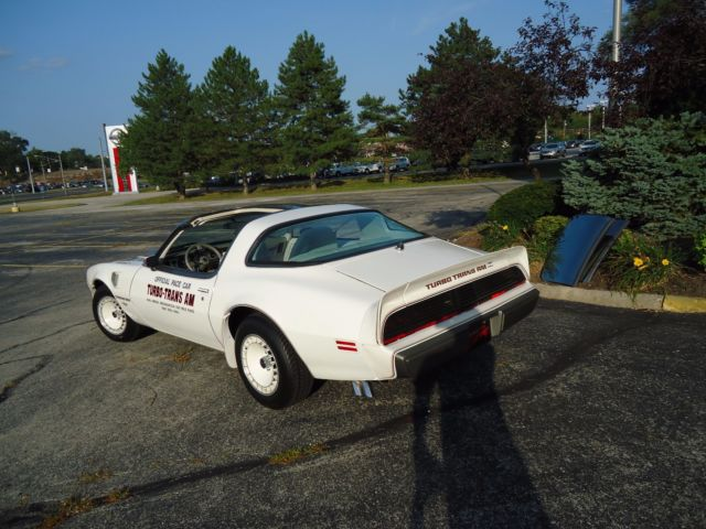 1980 Pontiac Trans Am WHITE