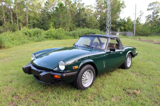 1980 Triumph Spitfire 1500 Convertible 4 Speed - 77+ Pictures - MUST SEE