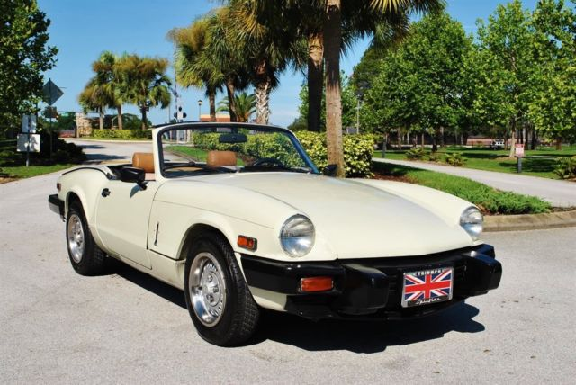 1980 Triumph Spitfire Roadster Absolutely Gorgeous! 58k Miles