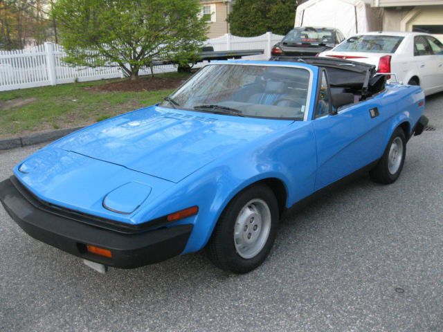 1980 Triumph Other TR 7