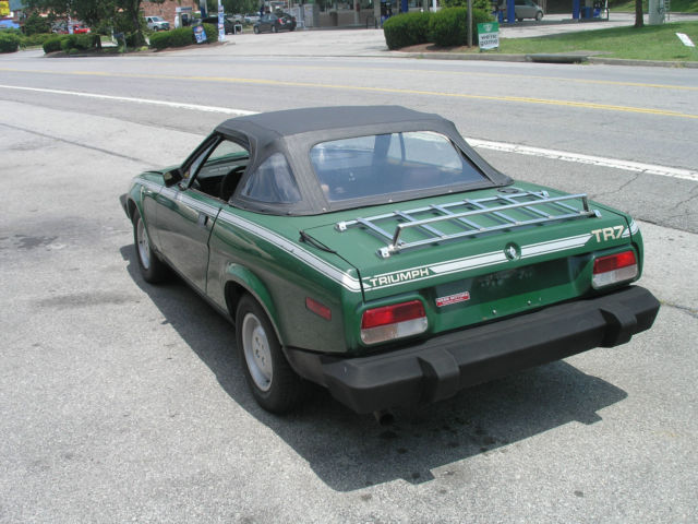 1980 Triumph Tr7 Convertible Nice Car Bad Engine For