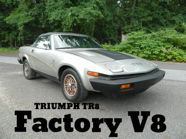 1980 Triumph Other TR8 V8