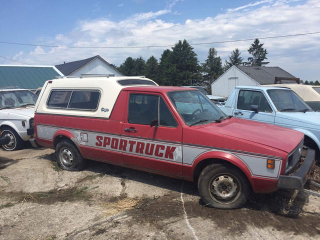 1980 Volkswagen Rabbit Sportruck