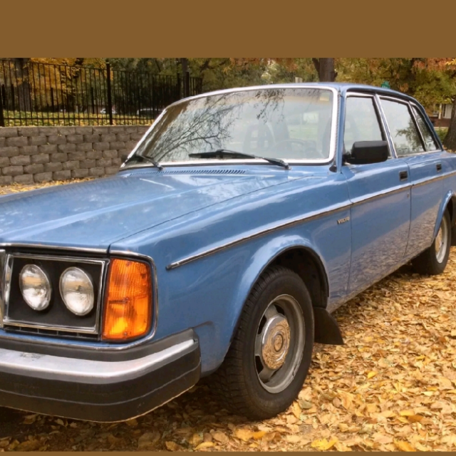 1980 Volvo 240 244 rust free with flawless interior