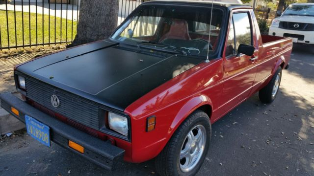 1980 Vw Rabbit Sel New Overhauld 90 2yrs In Restoration 52 Mpg Runs A1 Truck