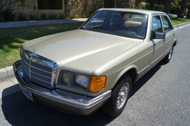 1981 Mercedes-Benz 300-Series TURBO DIESEL WITH 75K ORIGINAL MILES!