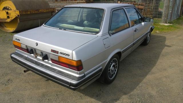 1981 Audi 4000 5+5 2 door RARE low miles 110K No Options Ur Quattro Coupe GT for sale: photos ...
