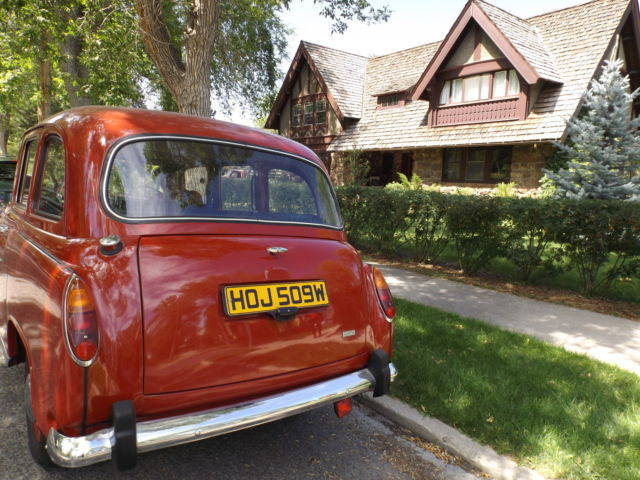 1981 austin fx4 hire car london taxi cab r hand drive for sale photos technical specifications. Black Bedroom Furniture Sets. Home Design Ideas