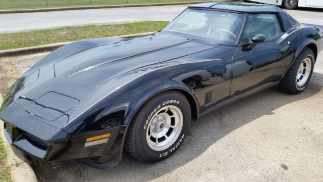 1981 Chevrolet Corvette 2 door Stingray Coupe