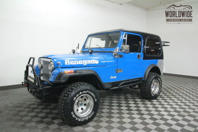 1981 Jeep CJ RENEGADE. RESTOMOD CUSTOM. GO ANYWHERE!