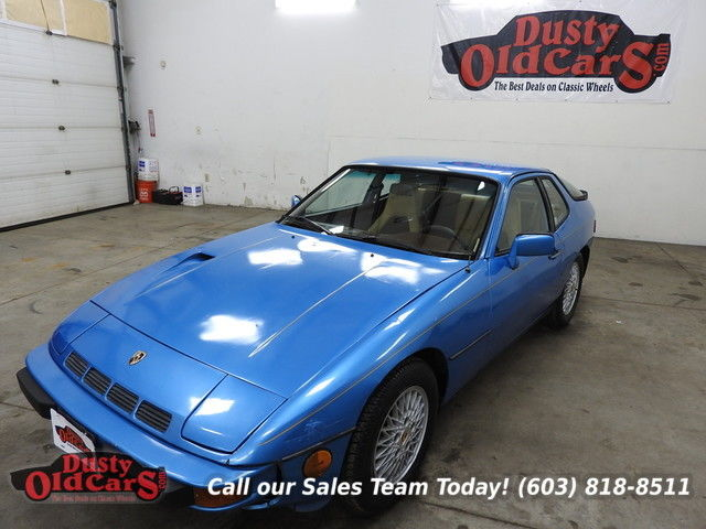 1981 Porsche 924 Runs Drives Body Inter Good Turbo 2L