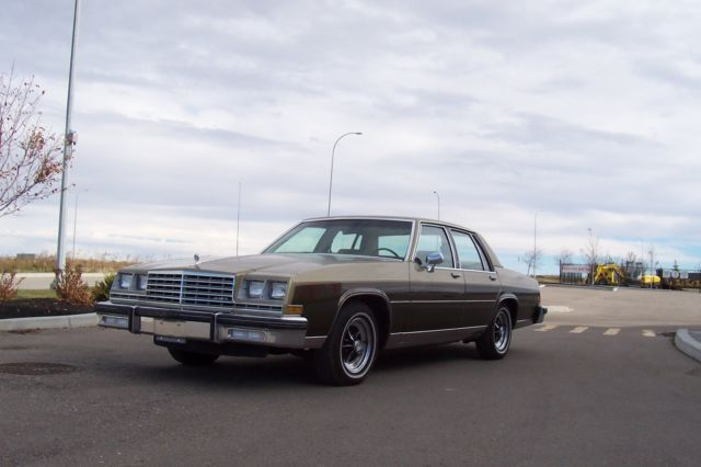 1981 Buick LeSabre Limited Sedan 4-Door