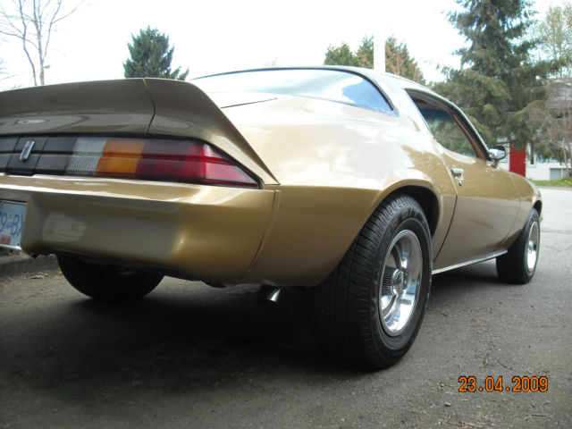 1981 Camaro, drivetrain all done, custom dash, turn key ...