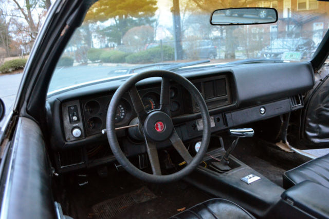1981 Black Chevrolet Camaro Coupe with Black interior