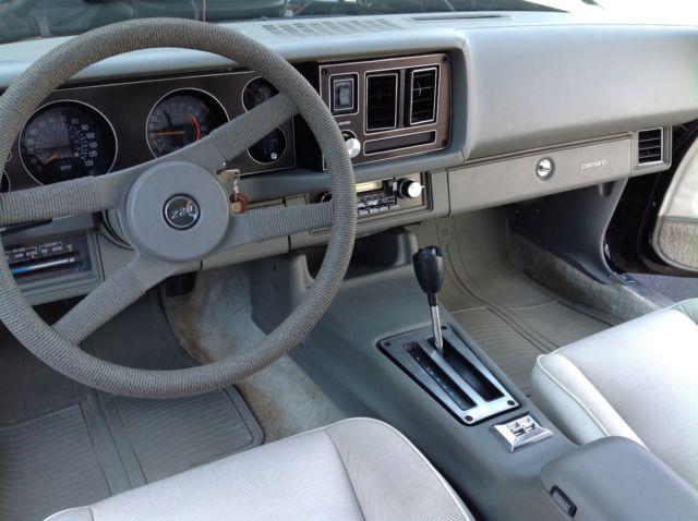 1981 Camaro Z/28 Black Rust Free Oyster Interior Every