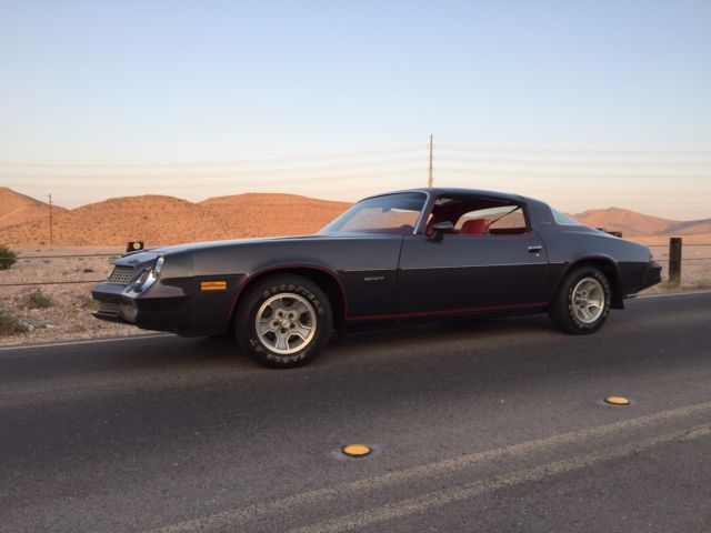 1981 Chevrolet Camaro Berlinetta