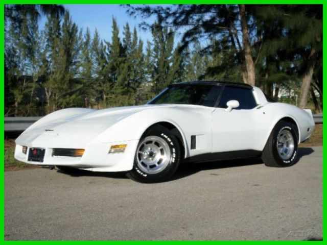 1981 Chevrolet Corvette VETTE STINGRAY T-TOPS AUTOMATIC