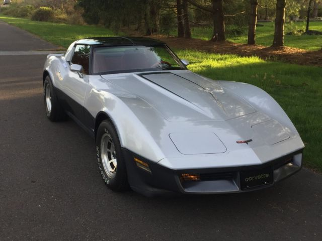 1981 Chevrolet Corvette 4-SPEED MANUAL, 23,000 ORIGINAL MILES