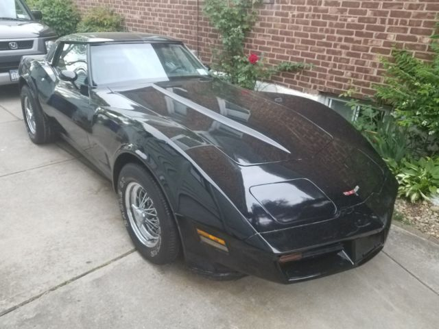 1981 Chevrolet Corvette T-TOP Coupe
