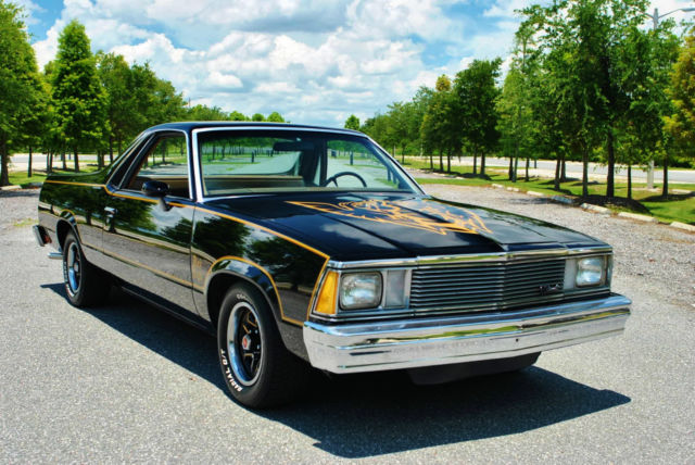1981 Chevrolet El Camino Black Knight Tribute Simply Stunning Restoration!