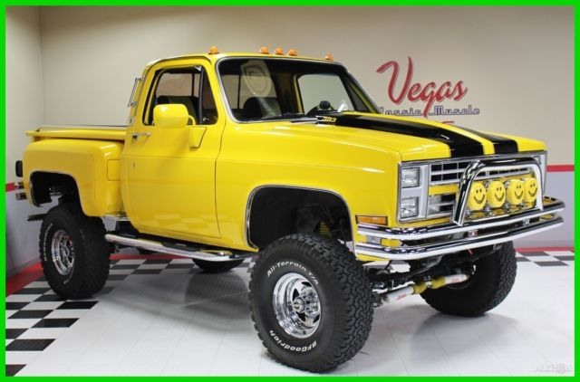 1981 Chevrolet C/K Pickup 1500 1981 Chevrolet K10 Pickup 4WD, Great Clean Driver!